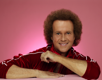 Richard Simmons red